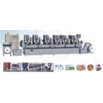 Machine d'impression à étiquettes à grande vitesse intermittente entièrement automatique