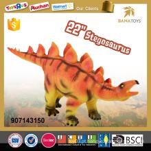 Brinquedos de dinossauro de venda superior 22 polegadas dinossauro soft stegosaurus para crianças