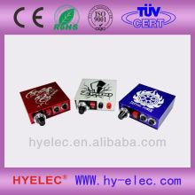HYELEC three color options mini size tattoo power supply