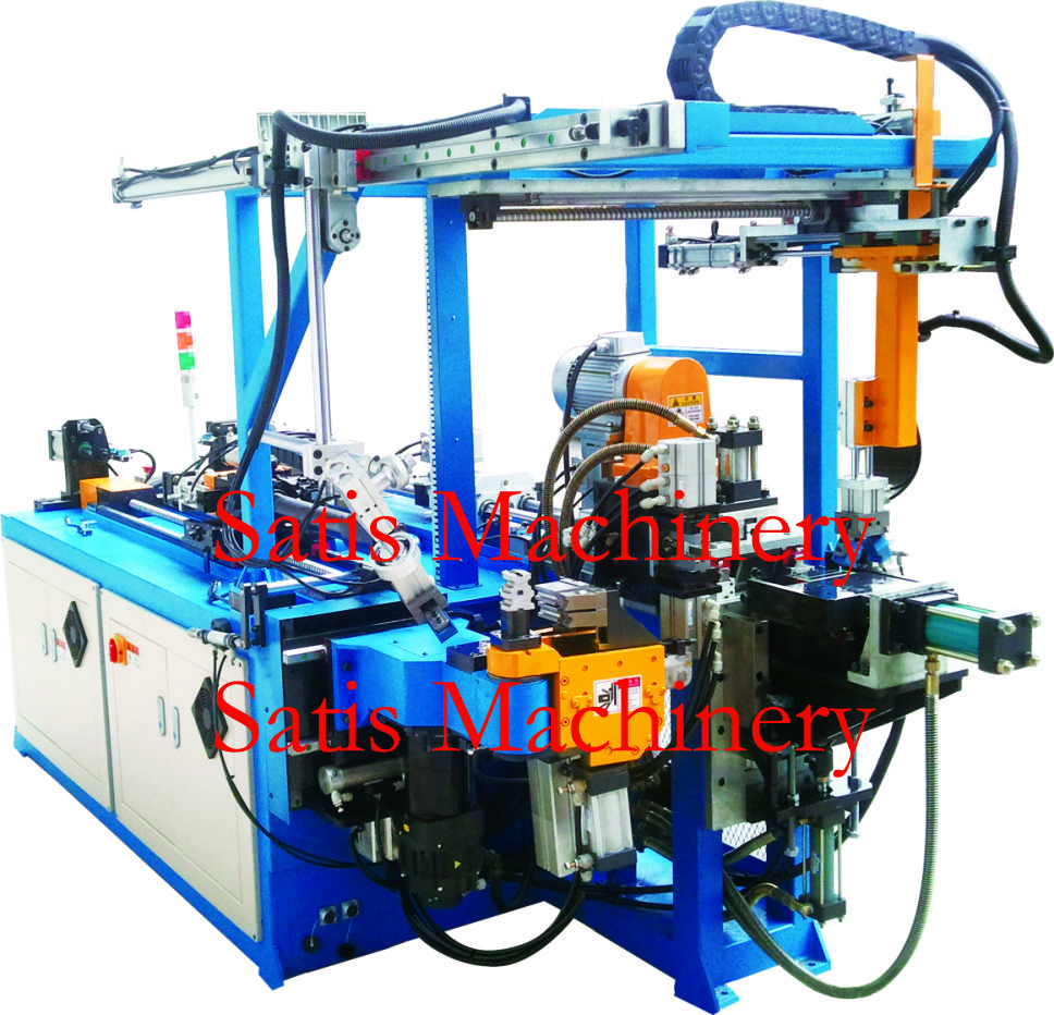Tubing Cutoff, End Forming & CNC Bending Machine 9