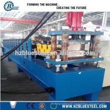 Full Automatic Galvanized Steel PU Sandwich Roller Shutter Production Line , Roller Shutter Slat Making machine
