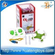 Cheerson CX-10 2.4G 4CH 6 Axes quadcopter rc mini drone avec caméra LED RC Quadcopter RTF