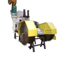 Машина для резки с вертикальных и горизонтальных лезвия