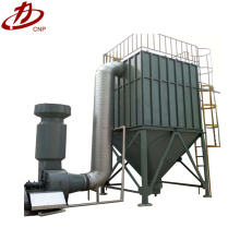 Industrial air pollution control bag filter system baghouse operation