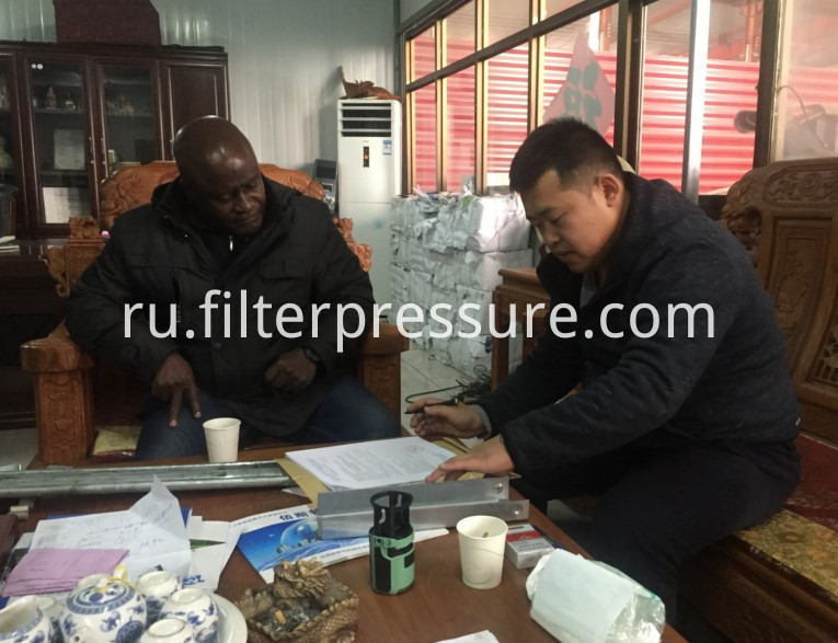 Ghana Customer Order Filter Press