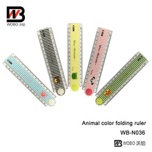 Plastic Flexible Ruler for School Supplies and Office Stationery