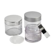 Hauptprodukte des Herstellers Verschiedene Kapazitäten Kunststoff PETG Kosmetikcreme Glas mit Deckel