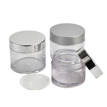 Main products of manufacturer Various capacities plastic PETG cosmetic cream jar with lid