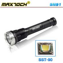 Maxtoch SN91 светодиод высокой мощности дальнего света 26650 аккумуляторная факел