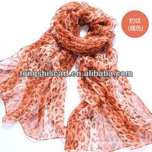 Luxury georgette silk scarf