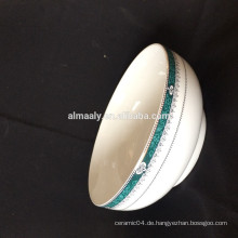 Porzellan-Suppenschüssel-Set, Schüssel China-Fabrik, türkische Keramikschale