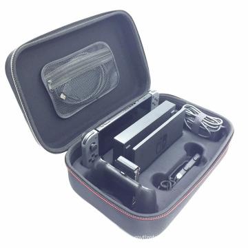 Shell rígido portátil para Nintendo Nintend Switch Bolsa de armazenamento protetora Cobertura da caixa de transporte com compartimentos