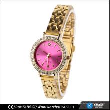 Relojes de pulsera de fantasía japón impermeable reloj damas pulsera