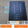 Tactile Buttons LEDs Indicators Waterproof Membrane Switch