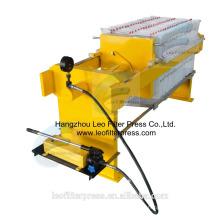 Presse-filtre de Leo 400 petite presse-filtre hydraulique manuelle pour l'essai