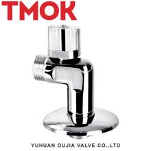 chromed покрынный латунный функция ванная комната и кухонный угол клапан