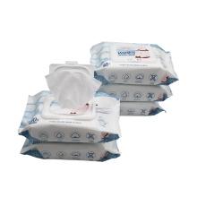 Babypflegeartikel weiche Babyprodukte Vliesstoffe Baby Feuchttücher