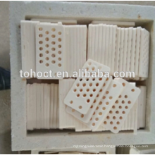High precision insulating abrasion resistance zirconia ceramic plate with holes for machine