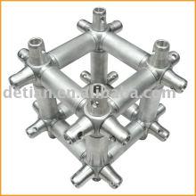 Mutlicubes, truss connector, aluminum conical coupler truss system