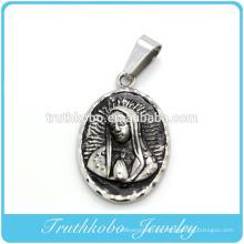 2014 Fashionabe Católica Abençoada Virgem Maria Significado Pingente Religiosa Descobertas Jóias Novo Fundição