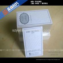 Estampado en caliente tipografía impresoras papel de lujo reciclado tarjetas de visita