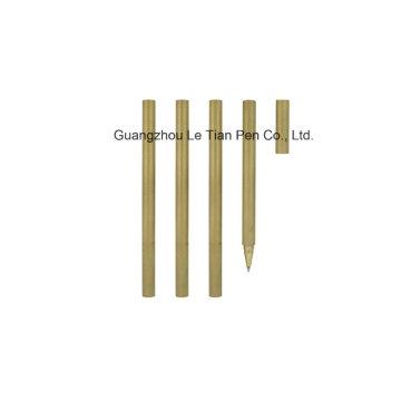 Großhandel Metall Gel Pen Gold Pen mit Kappe Lt-L457