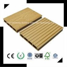 Vente en gros de haute qualité résistant aux chocs WPC Composite Decking 146 * 24