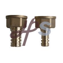 Adaptador de latón pex hembra, conector pex latón y conector
