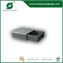 Caixa de gavetas de qualidade cinza caixa de presente para atacadista