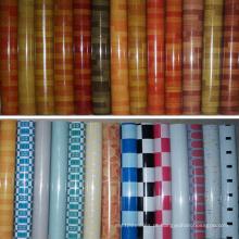 Revestimento quente do PVC do mármore da Índia Tailândia da venda 1.0mm-2.0mm