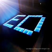 Decoração de casamento 3D LED Dance Floor