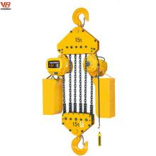 Palan électrique à chaîne de type fixe 15ton