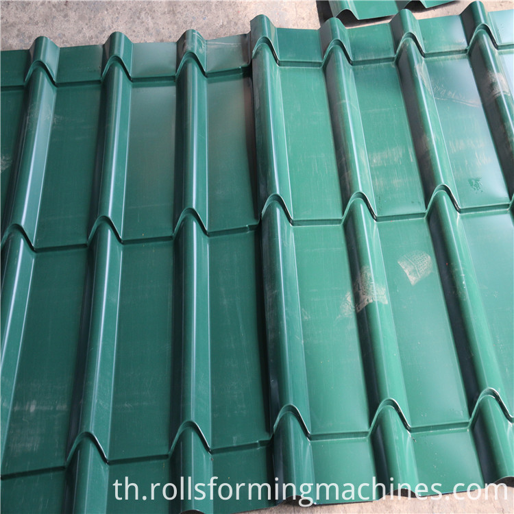 Glazed Tile Forming Machine