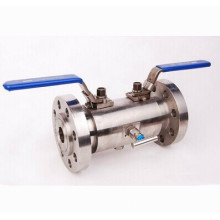 Double Block & Bleed Flanged Floating Dbb Ball Valve (DBBQ41F)