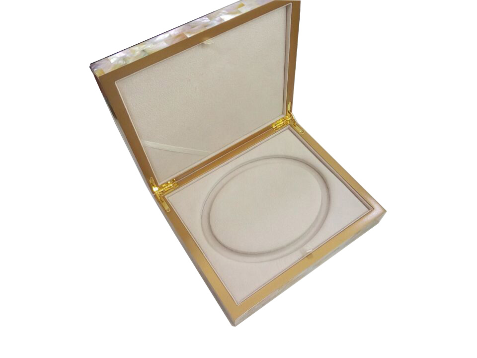golden mother of pearl box