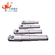 Extruder twin screw barrel/double screw barrel/conical twin screw barrel for pvc pipe