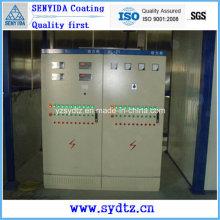Máquina de recubrimiento en polvo Línea de pintura para equipos de control eléctrico