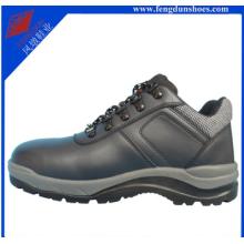 Стальной мыска двойной плотности PU инъекции обувь