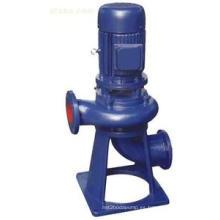 Bomba de agua centrífuga de Vertical de las aguas residuales de acero inoxidable de la serie de LW