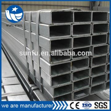 ERW square & rectangular steel pipe in stock