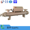 Manual cleaning UV sterilizer for waste water