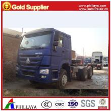 Cabeça de caminhão trator 420HP 6X4 HOWO