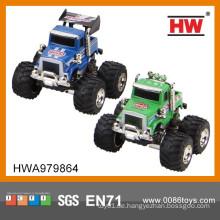 1:64 Diecast Toys ziehen Auto Big Wheel 12PCS / BOX zurück