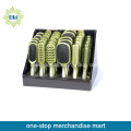 wholesale compact cushion hairbrush set displaybox stand