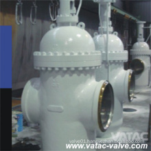 OS&Y Cast Steel RF Flanged Expanding Gate Valve