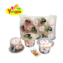 Halal marshmallow with shape and  jelly bag
