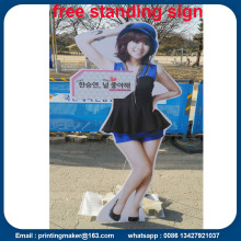 Free Standing PVC Board Printed Signs