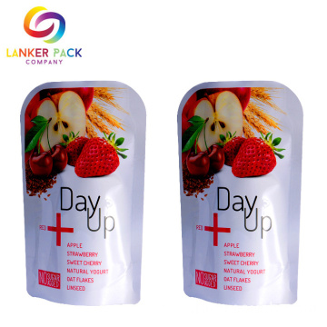 High Barrier Custom Stand Up Pouches For Snack