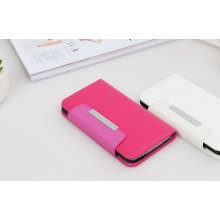 Pink Protective Belt Magnetic Leather Case for Samsung S6