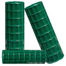 1/4 дюймов покрынная PVC сваренная ячеистая сеть